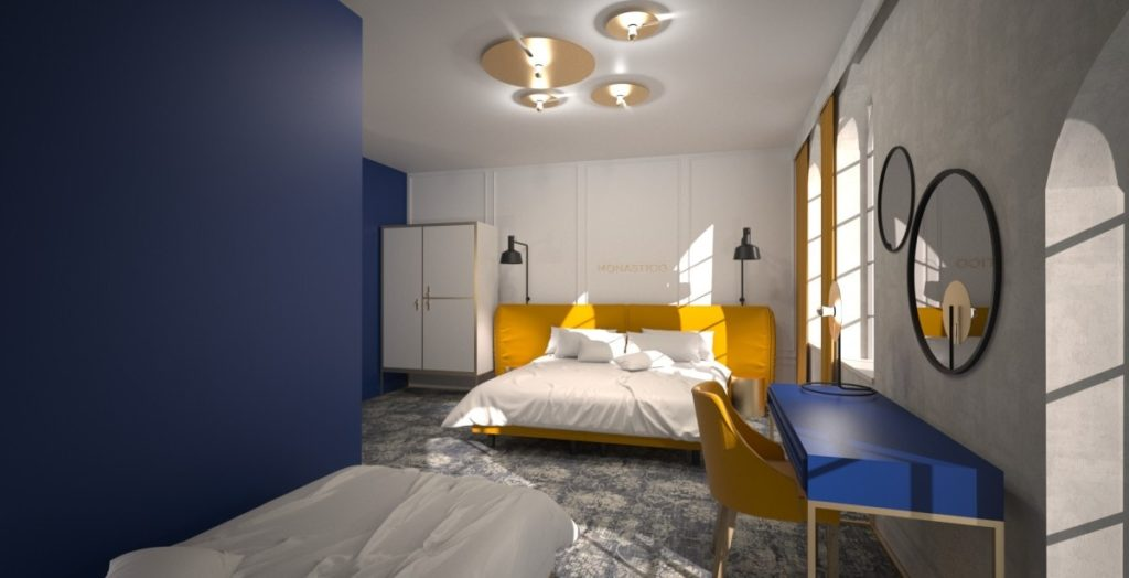 Hotelmöbelprojekt monastico