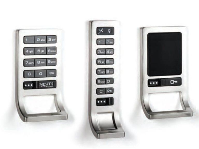 RFID-Sperren für Kabinett-Code