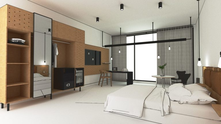 Custom Zimmer Hotelmöbel