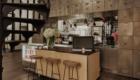 Möbel für Rezeptionen im industriellen Stil