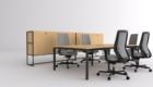 Büro Schreibtische und Schränke