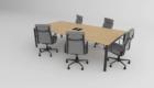 Konferenztisch für das Büro